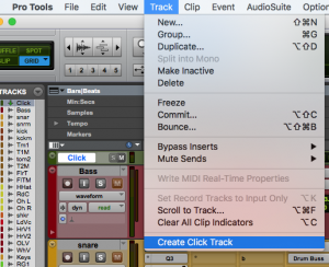 How To Add A Click Track & Use Tap Tempo In Pro Tools - Mix Studios