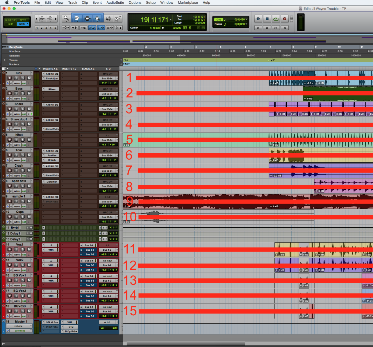 What are Tracks? - Mix Studios