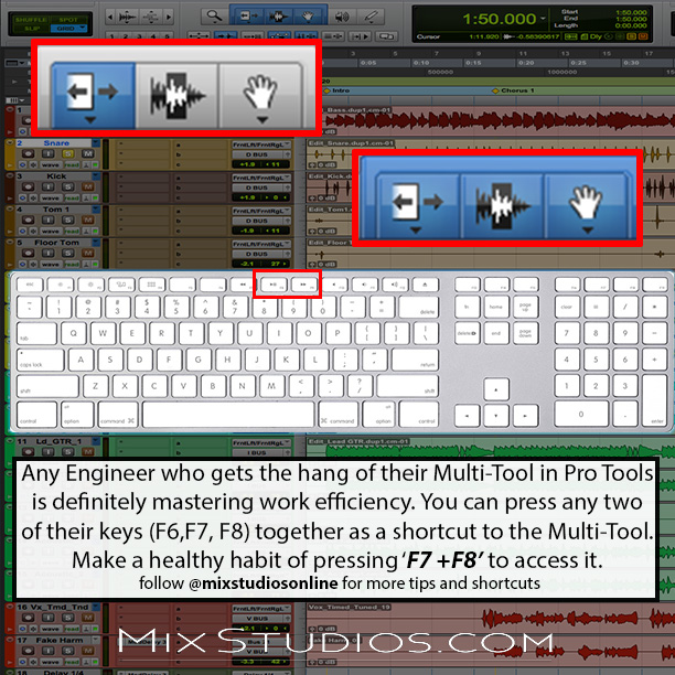 More tips and shortcuts on Instagram! Follow @mixstudiosonline to keep up with tips, and hear about deals and coupons!